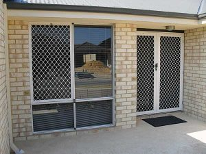 Grille Hinged Doors