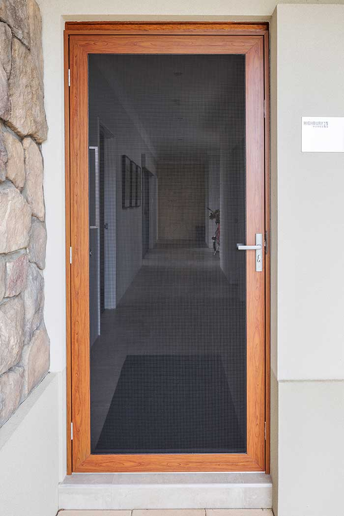 Alutech security door